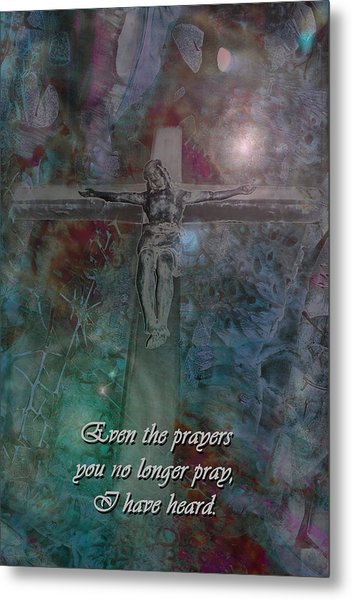 Crucifix 2 Metal Print