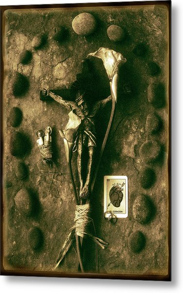 Crucifix, The Loss Metal Print