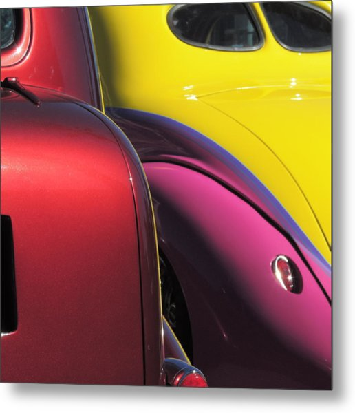 Cruise In Colors Metal Print