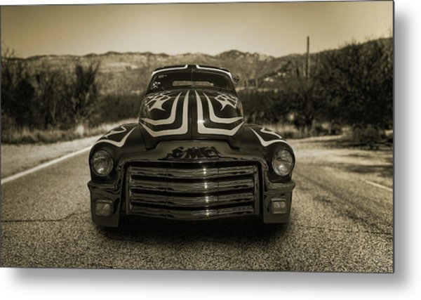 Cruising In The Southwest Metal Print by Joseph Sassone