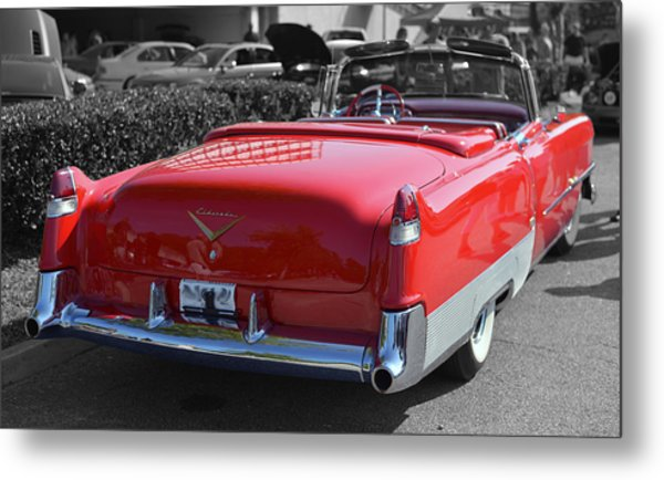 Cruising In Time Metal Print