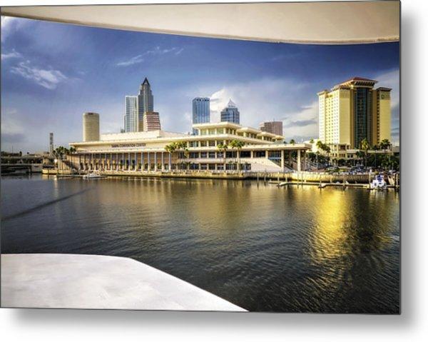 Cruising To Tampa In Hdr Metal Print
