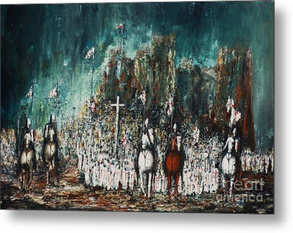 Marching Out Metal Print