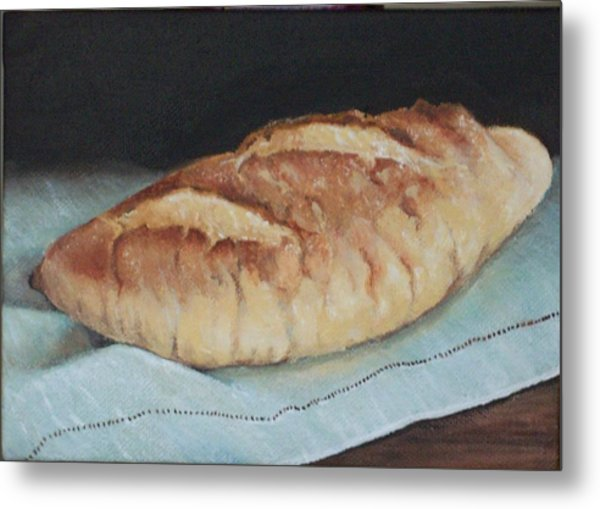 Crusty Loaf Metal Print