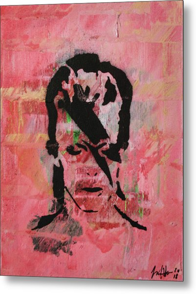 Metal Print featuring the painting Crying Hard As A Babe by Jayime Jean