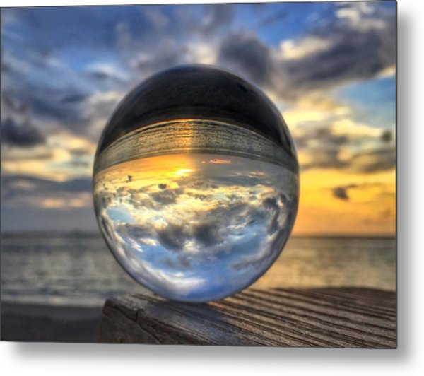 Crystal Ball 1 Metal Print