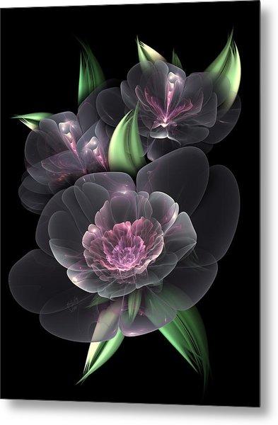 Crystal Bouquet Metal Print