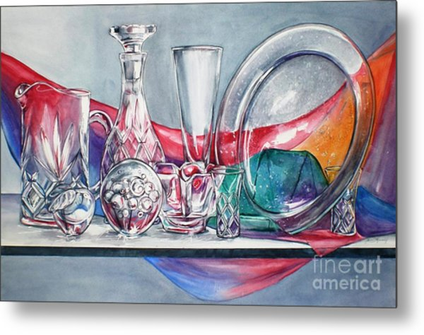 Crystal Clear In Color No 3 Metal Print