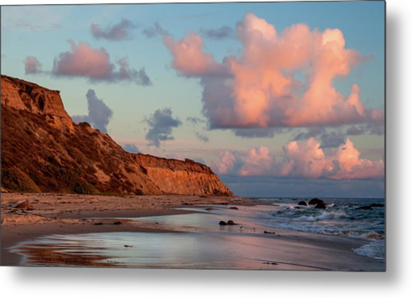 Crystal Cove Reflections Metal Print