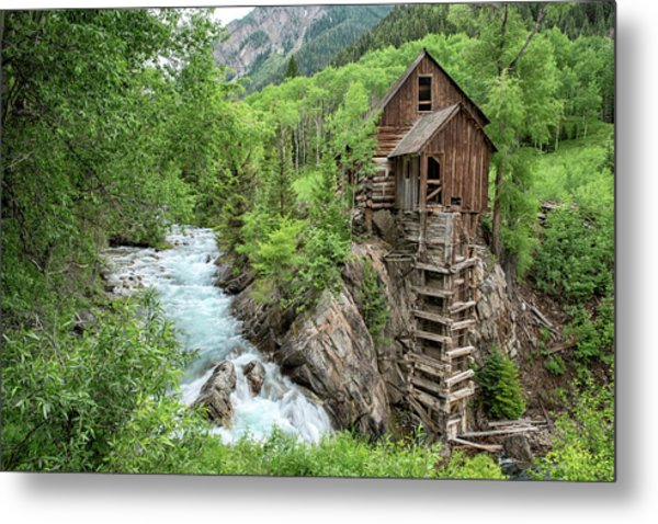 Crystal Mill Colorado 3 Metal Print