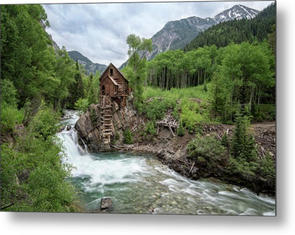 Crystal Mill Colorado 4 Metal Print