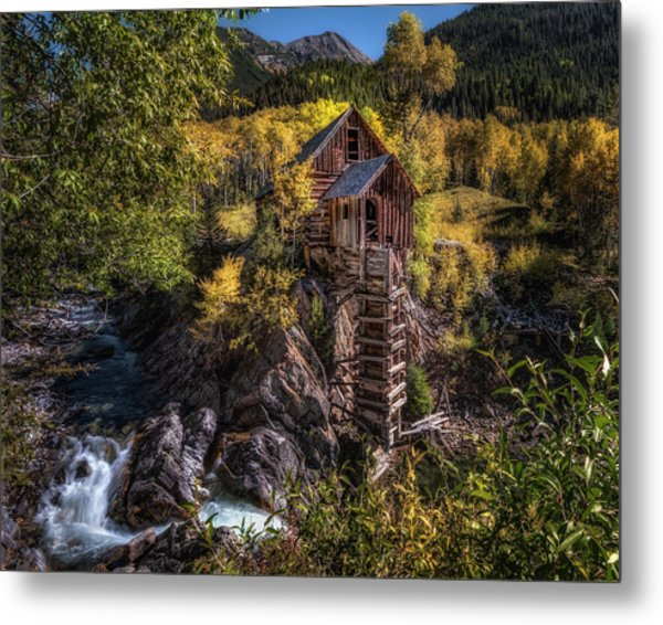 Crystal Mill Colorado Metal Print