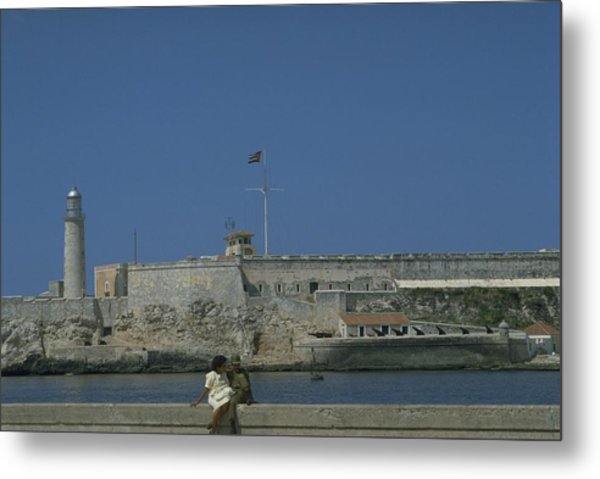 Cuba In The Time Of Castro Metal Print