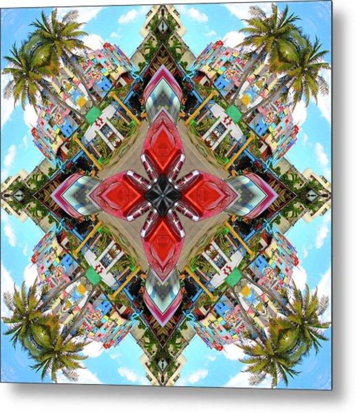 Cuban Kaleidoscope Metal Print
