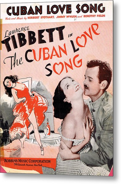 Cuban Love Song Metal Print