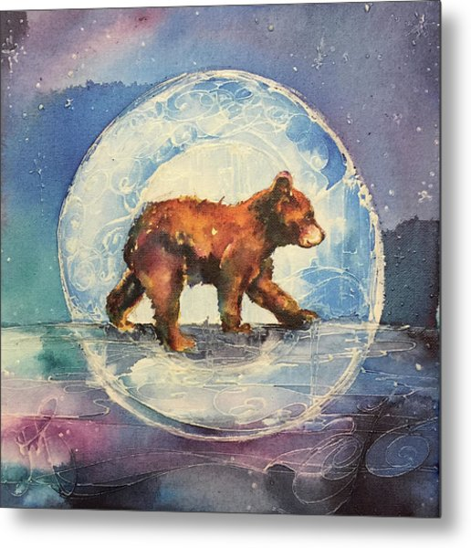 Cubbie Bear Metal Print
