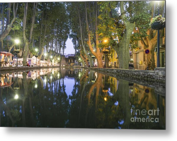 Metal Print featuring the photograph Cucuron Village Provence  by Juergen Held