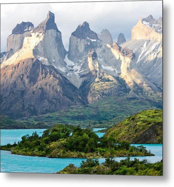 Cuernos Del Paine - Patagonia Metal Print
