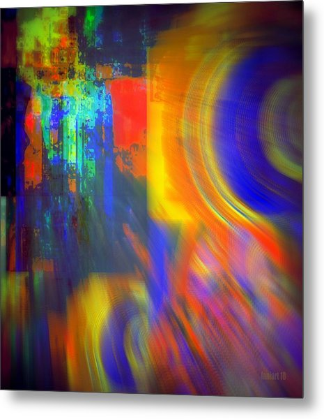 Cultural Exchange And Movement Metal Print by Fania Simon