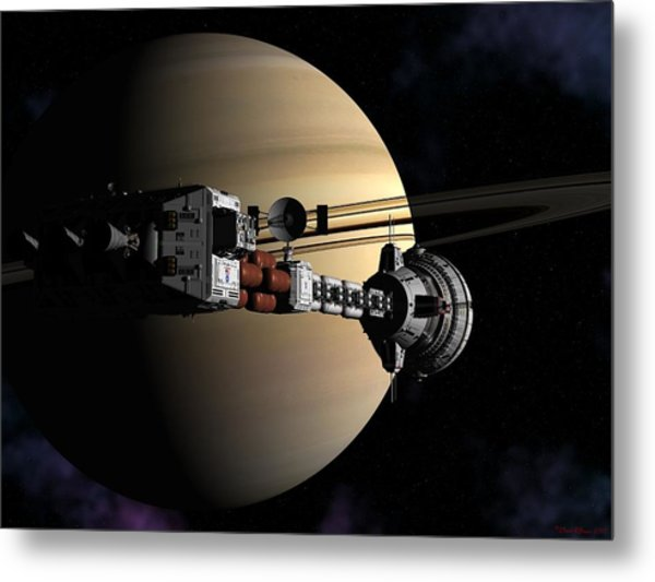 Cumberland At Saturn Part 2 Metal Print