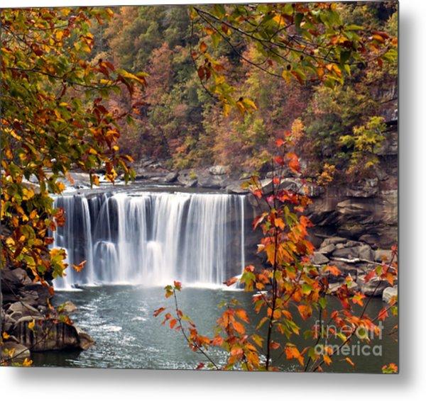 Cumberland Falls Two Metal Print