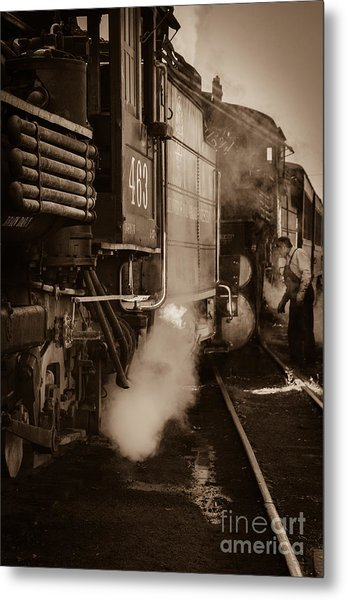 Cumbres And Toltec Steam Train  Metal Print by Scott and Amanda Anderson