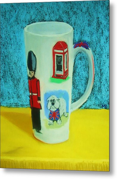 Cup Of London Java Metal Print