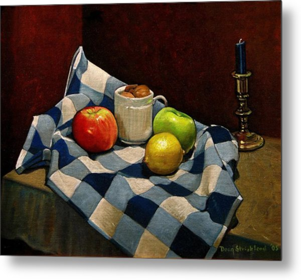 Cupboard Still Life Metal Print by Doug Strickland