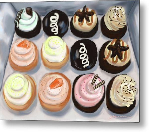 Cupcake Charlies Metal Print