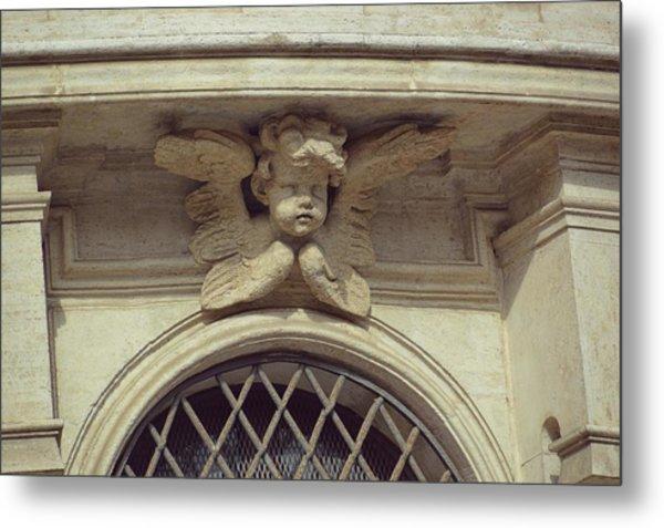 Cupid Protecting Saint Agnes Metal Print by JAMART Photography