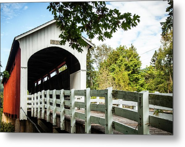 Metal Print featuring the photograph Currin Bridge by Jim Adams