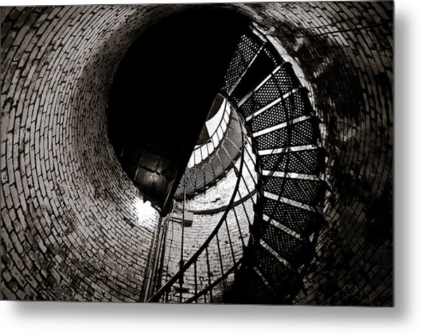 Metal Print featuring the photograph Currituck Spiral II by David Sutton