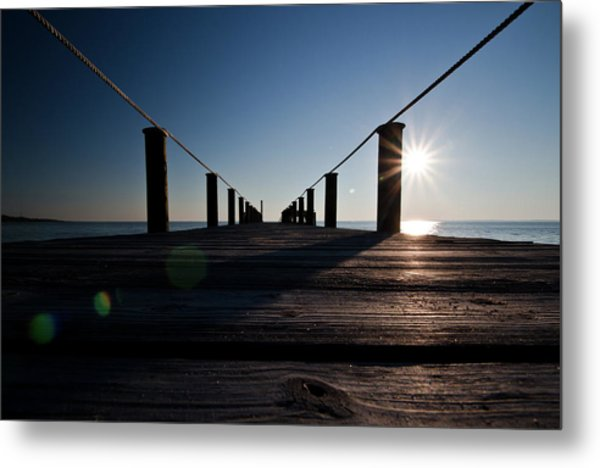 Metal Print featuring the photograph Currituck Sunset by David Sutton