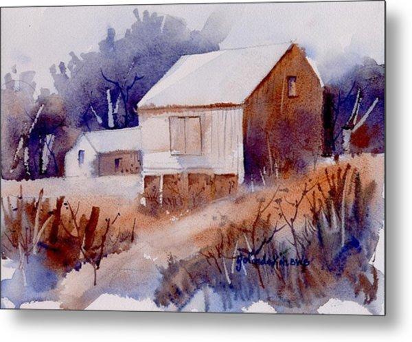 Curtis Farm In Ellicott City Metal Print