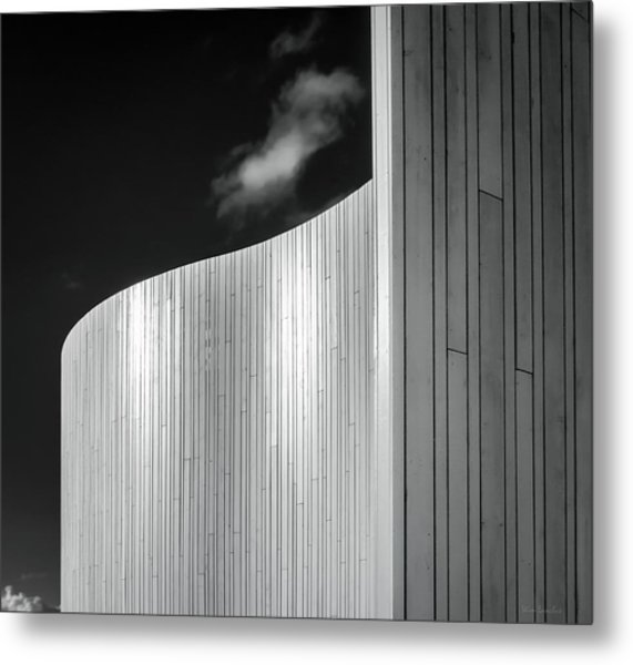 Curve Four Metal Print