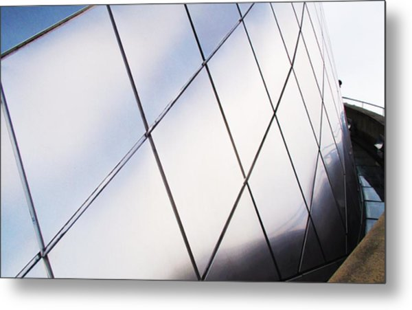 Curve Of The Cone Metal Print