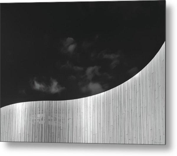 Curve Two Metal Print
