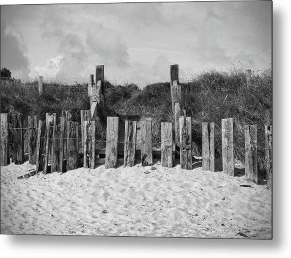 Cushendun Beach Metal Print
