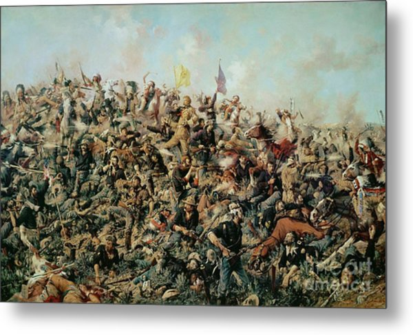 Custer's Last Stand Metal Print