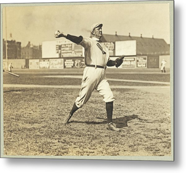 Cy Young July 23rd 1908 Metal Print