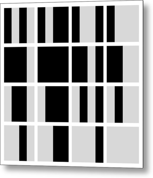 Cyclic Block - 24 Metal Print
