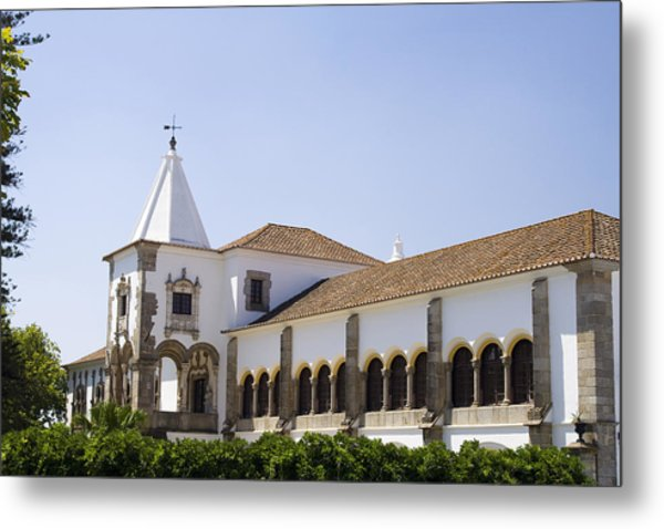 D. Manuel Palace Metal Print by Andre Goncalves