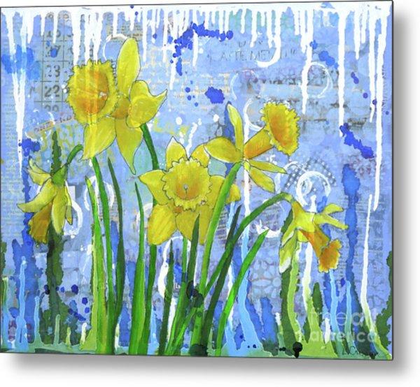 Daffodil Ding Dongs Metal Print