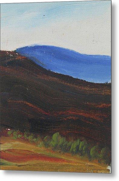 Dagrar Over Salenfjallen- Shifting Daylight Over Distant Horizon 2 Of 10_0035 50x40 Cm Metal Print