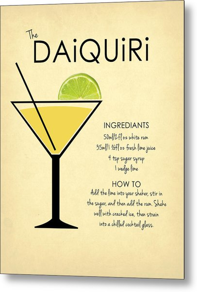 Daiquiri Metal Print