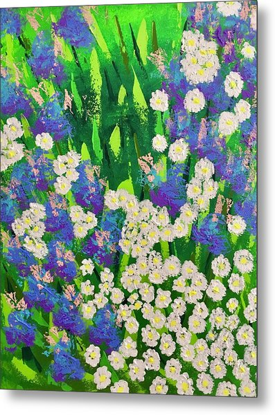 Daisy And Glads Metal Print