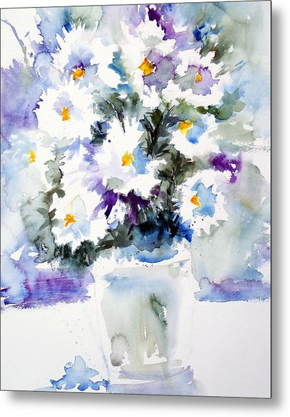 Daisy Bouquet Metal Print by Carol Sprovtsoff