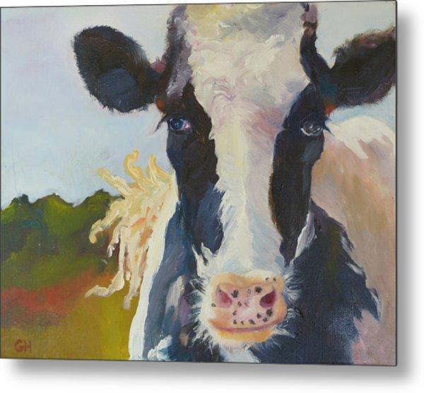 Daisy The Cow Metal Print