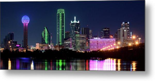 Dallas Colors Pano 2015 Metal Print