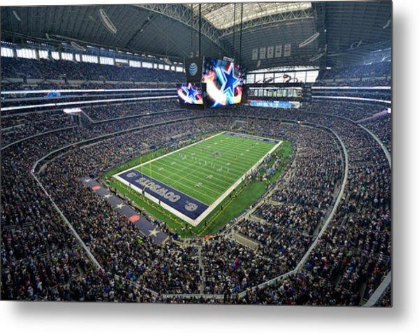Dallas Cowboys Att Stadium Metal Print